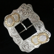 Silver Harness Style Buckle