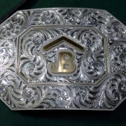 Silver Brand Buckle