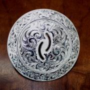 Silver Horn Cap
