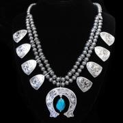 Pawnee Warrior Necklace
